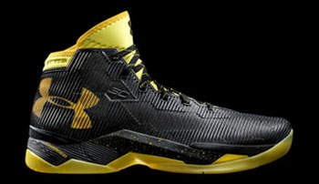 Under Armour Curry 2.5 Gold