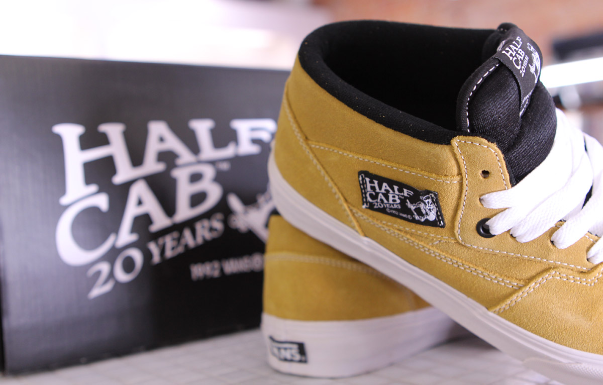 Vans Half Cab 20th Anniversary 'Butterscotch' - Now Available