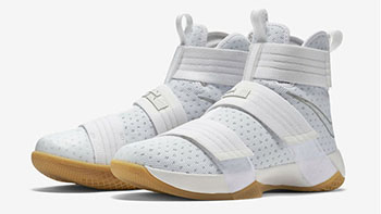 White Gum Nike LeBron Soldier 10