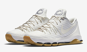 Nike KD 8 EXT White Woven Release