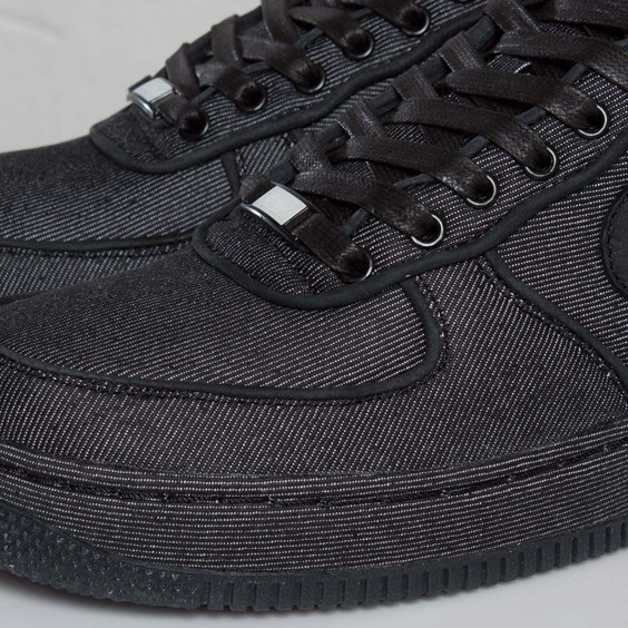 Nike Air Force 1 Low Premium 'Black Denim' - Another Look