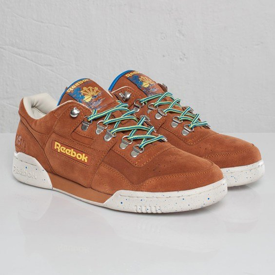 Reebok Workout Plus 25th Anniversary 'Brown Malt'
