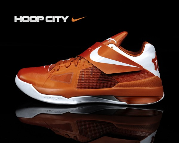 Nike Zoom KD IV 'Texas Longhorns' - New Images
