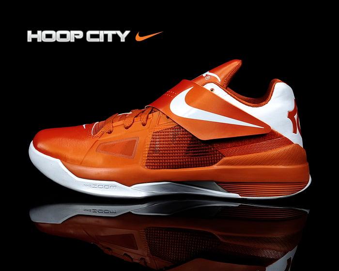 Nike Zoom KD IV 'Texas Longhorns' - New Images