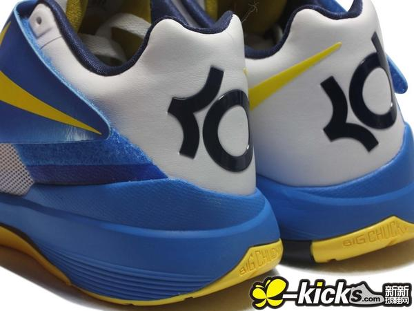 Nike Zoom KD IV 'White/Photo Blue-Midnight Navy-Tour Yellow' - Another Look