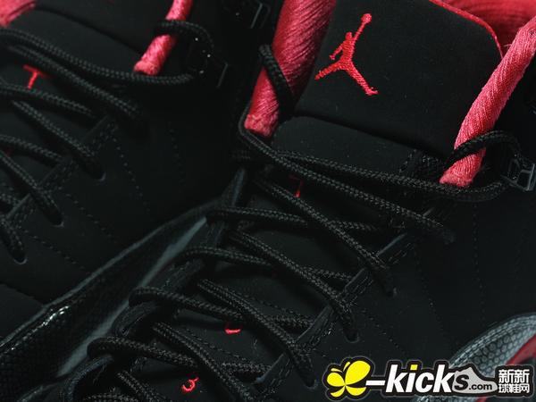 Air Jordan XII (12) GS 'Black/Siren Red' - Another Look