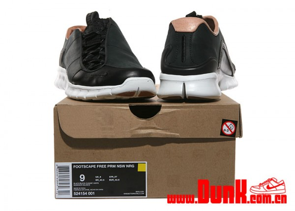 Nike Footscape Free PRM NSW NRG 'Black' - New Images