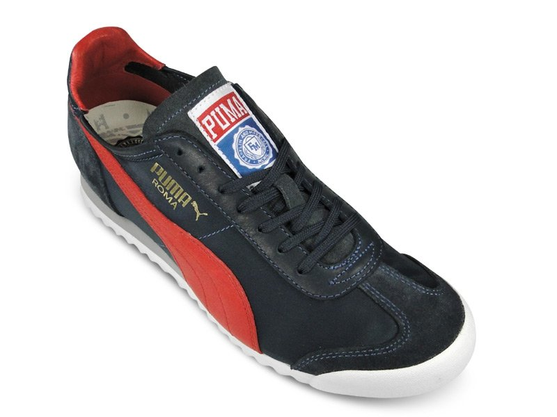 Franklin & Marshall x PUMA Roma Luxe Nylon 'Navy/Red'