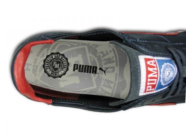 Franklin & Marshall x PUMA Roma Luxe Nylon 'Navy/Red'