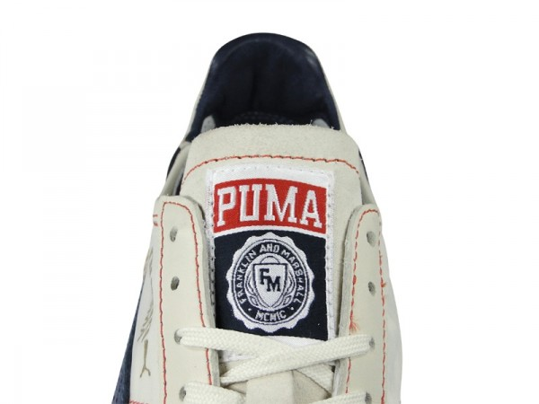 Franklin & Marshall x PUMA Roma Luxe Nylon 'White/Navy'