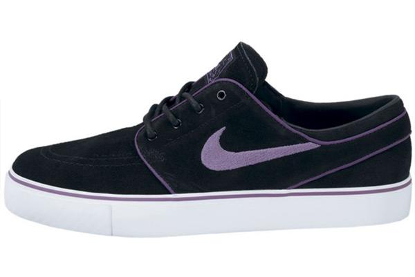 Nike SB Stefan Janoski 'Black/Vintage Purple-White'