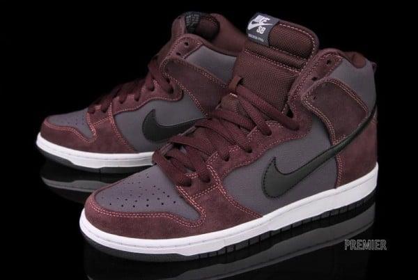 Nike SB Dunk High 'Deep Burgundy' - Now Available