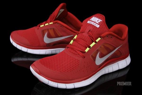 Nike Free Run+ 3 'Gym Red'
