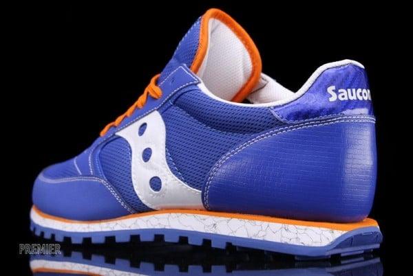 Saucony Jazz Low Pro 'Blue/Orange'