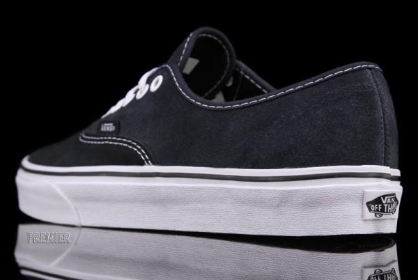 Vans Authentic Two-Tone Suede 'Black/Ebony'