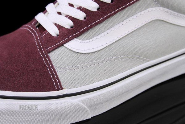 Vans Gold Coast Old Skool 'Vineyard Wine Red/High Rise Grey'