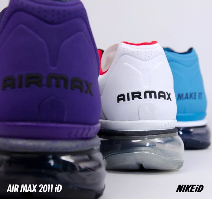 Nike Air Max+ 2011 iD - New Colorways Available