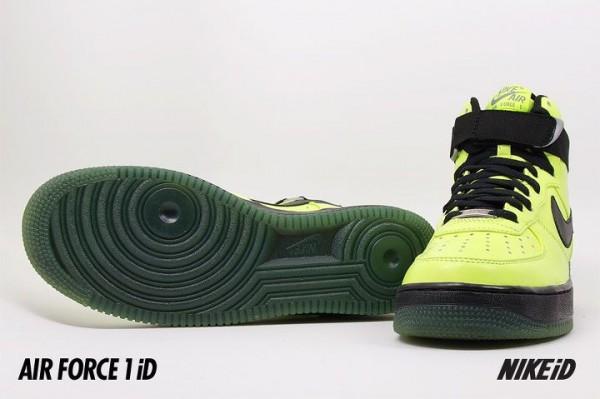 Nike Air Force 1 iD - New Base Palette Samples