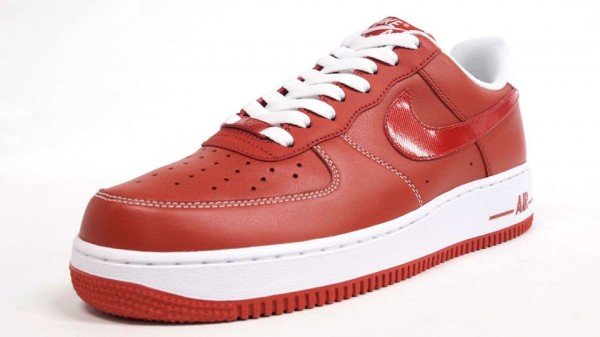 Nike Air Force 1 Low Premium 'Red'