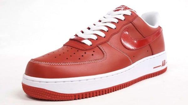 Nike Air Force 1 Low Premium 'Red'