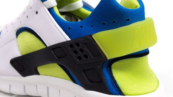 Nike Huarache Free 2012 'White/Soar-Cyber' - More Images