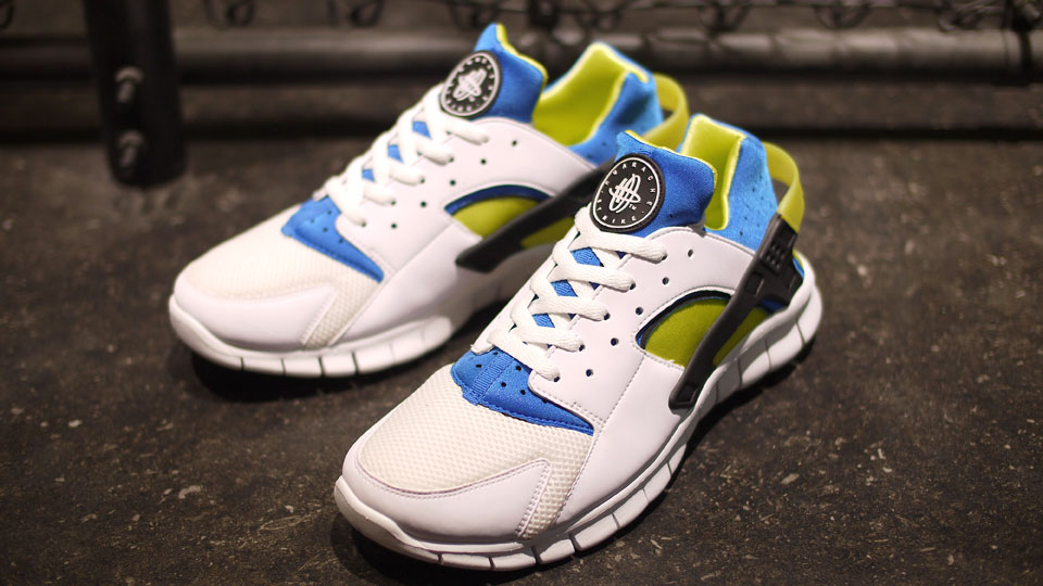 Nike Huarache Free 2012 'White/Soar-Cyber' - Another Look