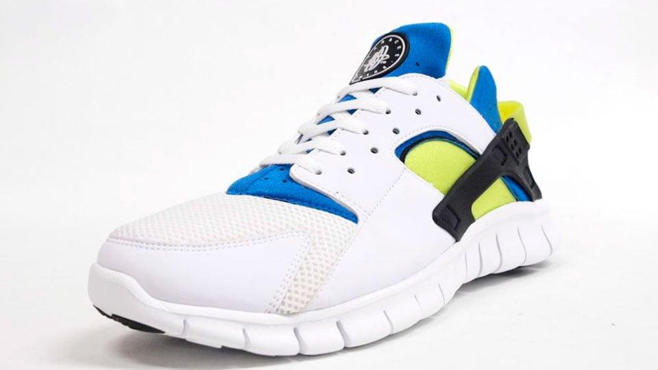 Nike Huarache Free 2012 'White/Soar-Cyber' - More Images