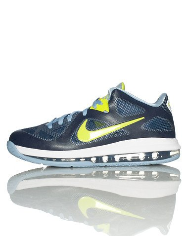 Nike LeBron 9 Low 'Obsidian/Cyber-White-Blue Grey' - Now Available at Jimmy Jazz