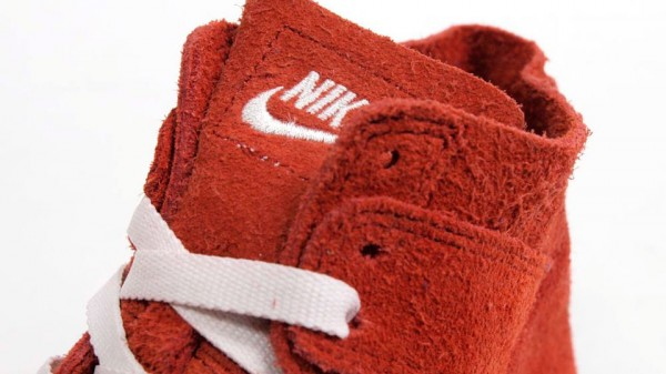 Nike Dunk High Deconstruct Premium 'Red'
