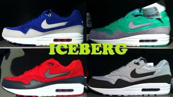 Nike Air Max 1 Holiday 2012 Colorways