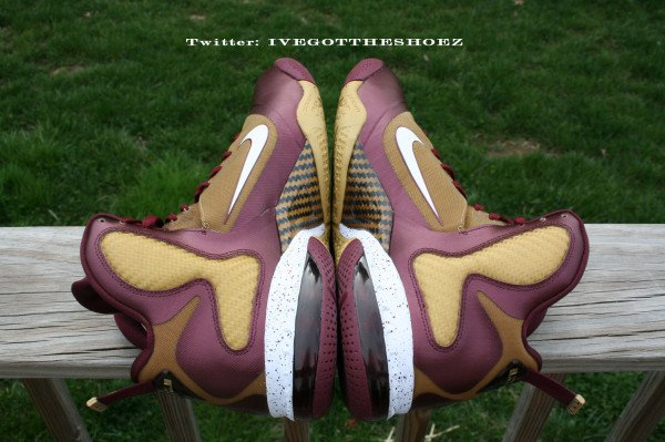 Nike LeBron 9 Christ The King 'Away' PE