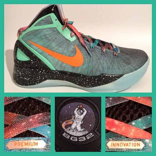reputable site ab0fb 110bf Nike Zoom Hyperdunk 2011 Supreme  All-Star  Blake Griffin PE - Another Look    SneakerFiles