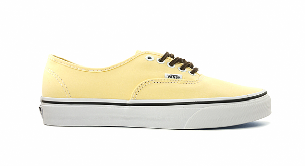 Vans CA Authentic Brushed Twill 'Yellow' - Now Available