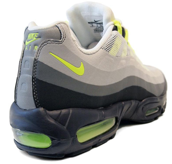 Nike Air Max 95 No Sew 'Anthracite/Cool Grey-Volt'
