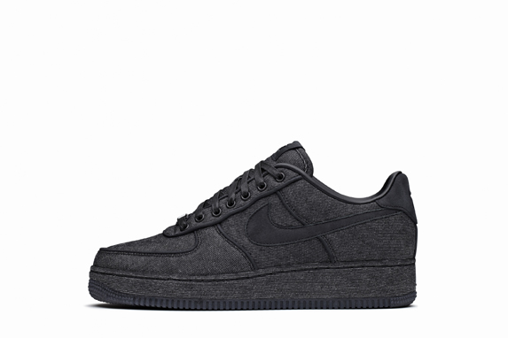 Release Reminder: Nike Air Force 1 Low Premium 'Black Denim'