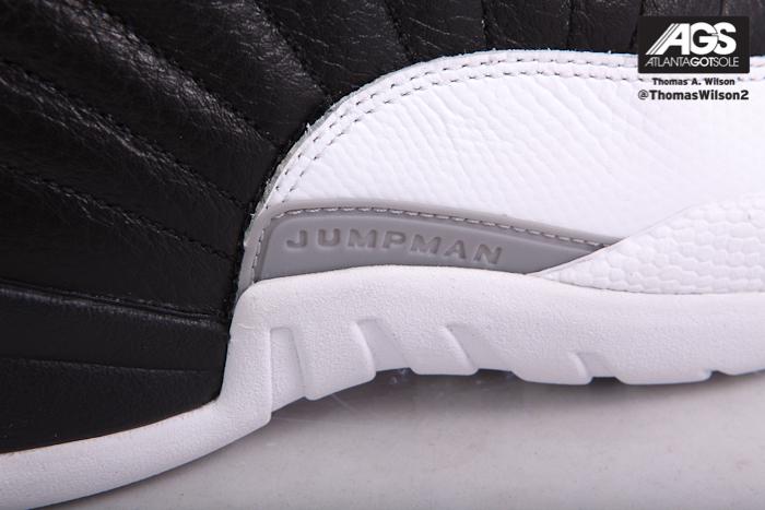 quality design bd877 c19b6 Air Jordan XII (12)  Playoffs  - Detailed Images   SneakerFiles