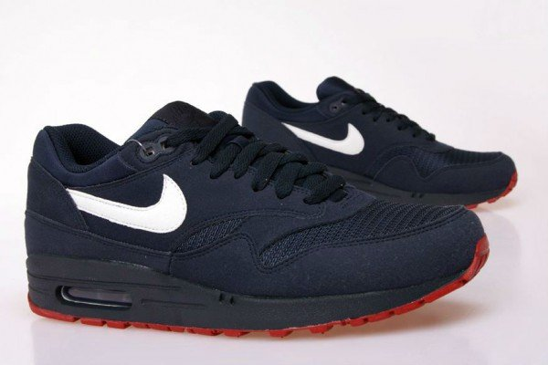 nike air max 1 dark blue