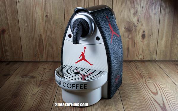 8d3dc1e0b149 Air Jordan III (3) Inspired Nespresso Coffee Machine Custom ...