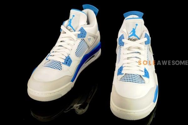 Air Jordan IV (4) 'Military Blue' - Detailed Look