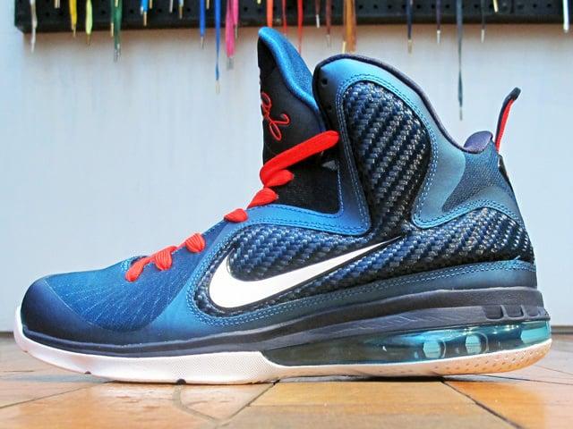 Release Reminder Nike LeBron 9 Swingman durable modeling ... e160c6451