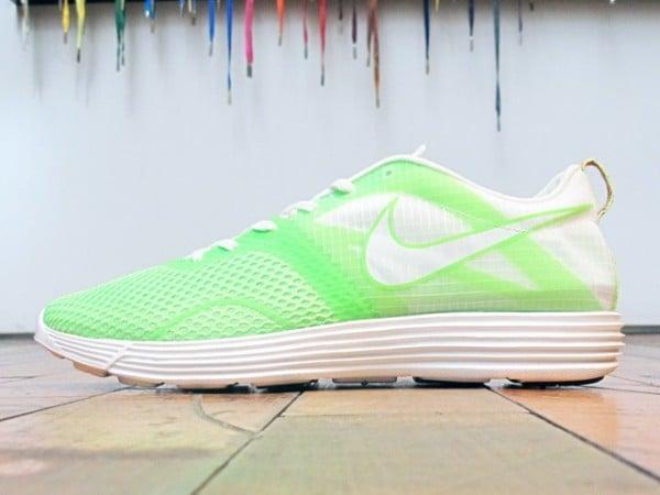 Nike LunarMTRL+ 'Electric Green/Summit White'