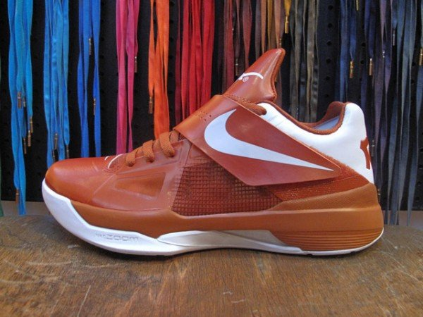 Release Reminder: Nike Zoom KD IV 'Texas Longhorns'