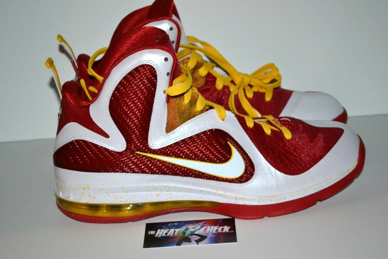 Nike LeBron 9 Fairfax 'Home' PE - Another Look
