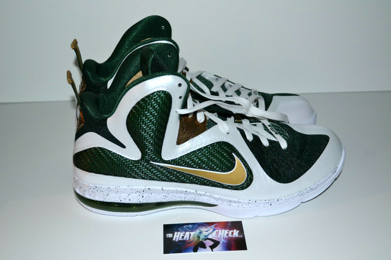 Nike LeBron 9 SVSM 'Home' PE - More Images