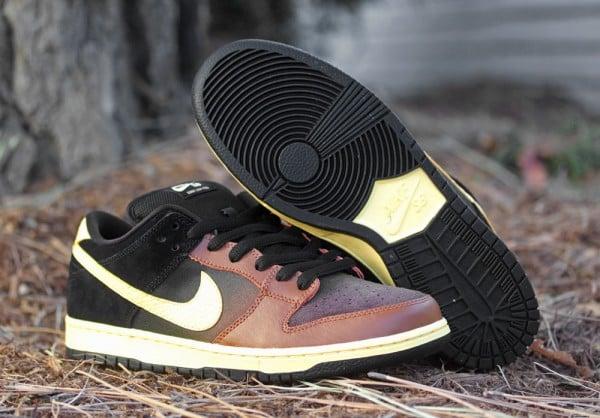 Nike SB Dunk Low 'Black and Tan'