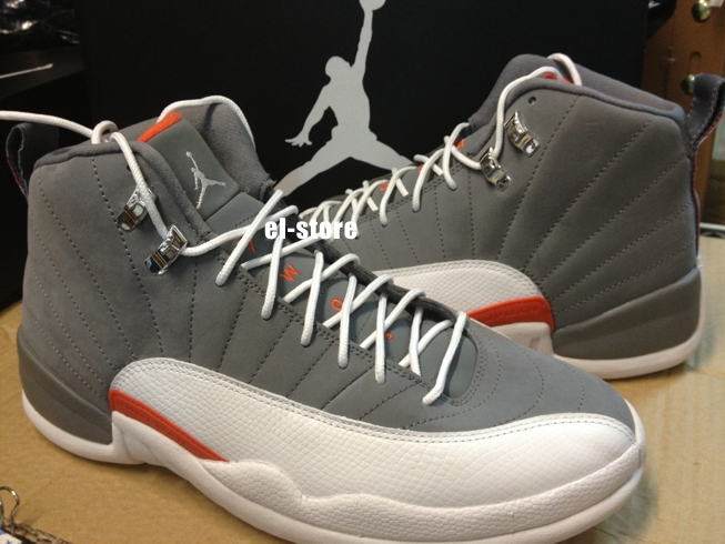 Shop Cheap Nike Air Jordan 12 Retro Cheap sale Cool Grey Team Or