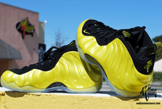 Nike Air Foamposite One 'Electrolime' - Arriving at Retailers