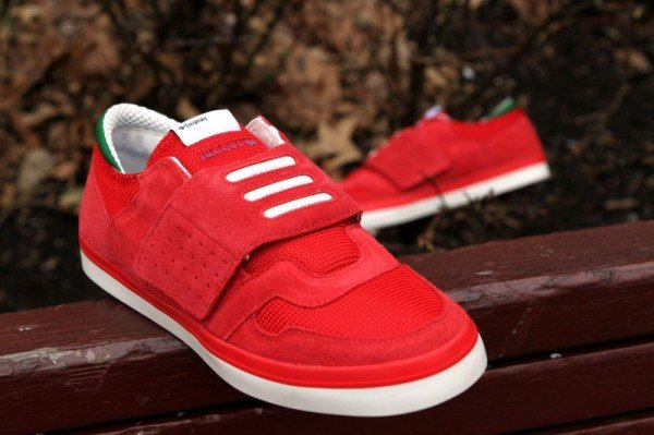 adidas Originals Hardland Lo 'Red'