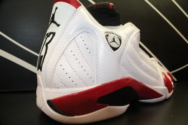 Air Jordan XIV (14) 'White/Varsity Red-Black' - More Images