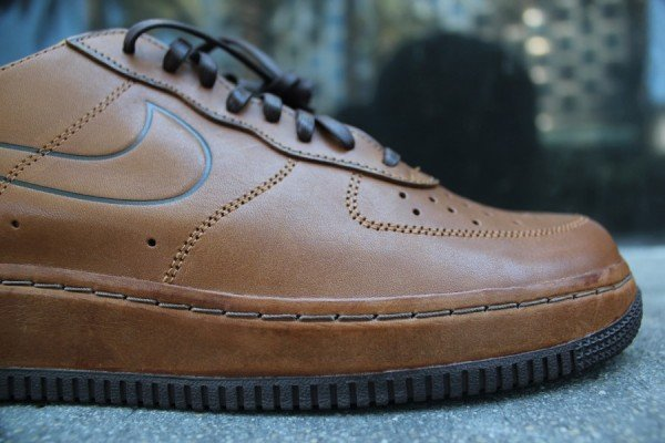 Nike Air Force 1 Deconstruct Supreme 'Hazelnut' - Another Look